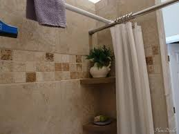 image of corner shower curtain rod material
