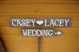 rustic wooden signs for weddings wooden designs popular wedding signs