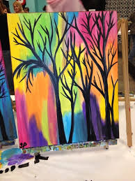 easy acrylic painting ideas beginners canvas google search