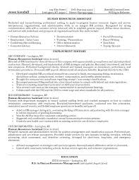 Human Resources Assistant Resume Keywords  Inssite