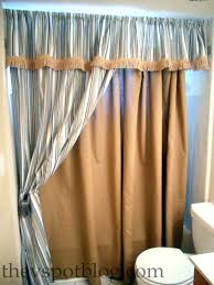 neoteric fancy bathroom curtains fancy shower curtains with valance how to make a no sew shower