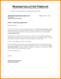 Regine Letter Format In Word Resigning Letter Format Seek An