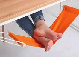 cool things for your office.  Office FUUT Desk Feet Hammock For Cool Things Your Office