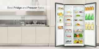 haier fridge side by side. best fridge-freezer ratio haier fridge side by -