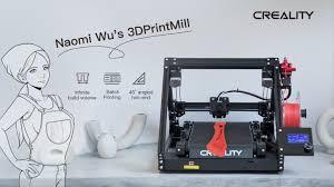 <b>Creality</b> 3DPrintMill(CR-30)- Belt <b>3D Printing</b> For Everyone by ...