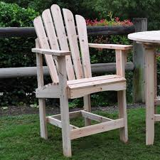 tall adirondack chair plans. Beautiful Tall Counter High Adirondack Chair  Chairs At Hayneedle  With Tall Plans C