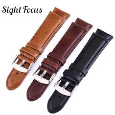 leather watch strap fit suunto 9 baro 24mm quick release strap spartan sd photoelectric watch band traverse alpha watchband watch bands watches
