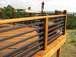 exterior railing height code. metal deck railing ideas view plenty http://awoodrailing.com exterior height code