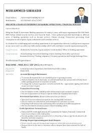 Resume Format For Banking Jobs Banking Resume Format Bank Resume Format Best Resume Format For