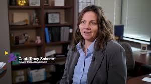 2021 Kids First Award: Captain Tracy Scherer - YouTube