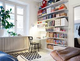 Modern Kids Office Room With Desk Space Home Design And