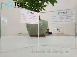 resistant high temperature ultra clear view anti reflective glass for frame ar tp
