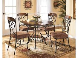 luxurious royal round dining table sets wooden countertops and well designed decorations