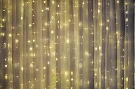 Curtain String Led Lights Rental Warm White Led String Curtain Dazian