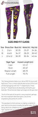 Pop Fit Size Chart Pin On My Posh Picks