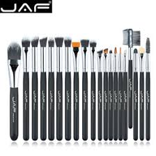 jaf brand 20 pcs set soft makeup brush professional foundation eye shadow blending cosmetics make up tool 100 vegan synthetic taklon