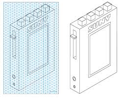 Isometric Projection Personal Stereo