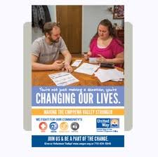 2019 Campaign Materials United Way Of The Greater Chippewa