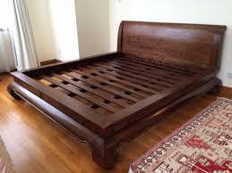 king bed frame wood. King Size Bed Frames Origin Asia Solid Teak Wood Frame A