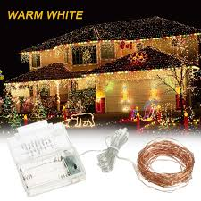 3 8 Incandescent Rope Light Us 4 29 35 Off Outdoor String Lights 39ft 100 Led Rope Light 8 Modes Garland Warm White For Party Garden Home Festival Decoration Led String In