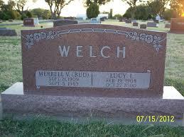 Merrell Virgil Welch (1909 - 1983) - Genealogy