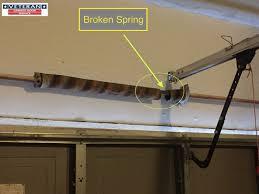Garage Door how to fix garage door springs pictures : My Garage Door Spring Broke, What Should I Do? |