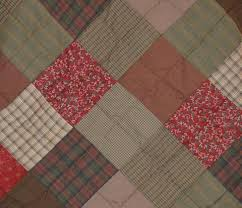 Country Patchwork Quilt Sets | Retro Barn Country Linens & ... Rosewood Hand Quilted Bedspread Quilt - Retro Barn Country Linens - 4 Adamdwight.com