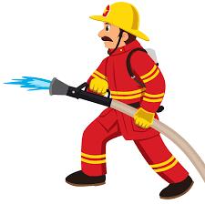 Fireman men clipart fire brigade pencil and inlor men - Cliparting.com
