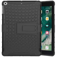 rugged tough shockproof case for apple ipad 2017 9 7 inch black