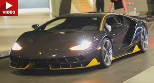 New Lamborghini Centenario Is One Loud Beast
