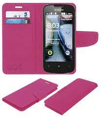 Lenovo A690 Flip Cover by ACM - Pink ...