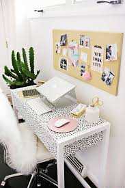 home office decorating ideas nyc. 13 Kate Spade New York-Inspired Office Decor Ideas For The HBIC Via Brit Co Home Decorating Nyc