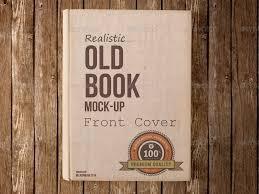 old book mockup