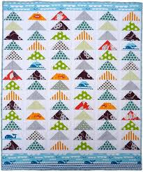 147 best Flying Geese Quilts images on Pinterest | Carpets, Flying ... & Modern Flying Geese Quilt by Red Pepper Quilts http://www.flickr. Adamdwight.com