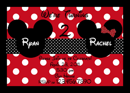 mickey and minnie invitation templates mickey and minnie mouse birthday invitations for twins tags