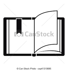 open book icon simple style csp41310695
