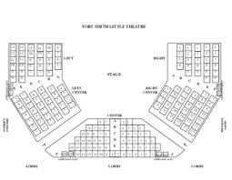 6th Street Playhouse Seating Chart Seating Chart