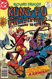 Richard Dragon Kung Fu Fighter 1975 Comic Books