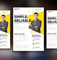 business to business marketing flyers creative marketing flyer template free design resources