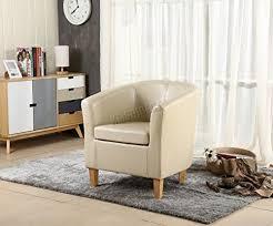 where can you buy FoxHunter <b>Faux Leather Tub Chair</b> Armchair ...