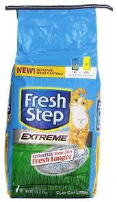 Купить Впитывающий <b>наполнитель Fresh Step Extreme</b> Clay 3.17 ...