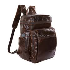 home leather backpack