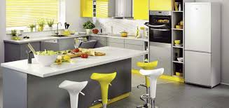 Fantastic Yellow And Gray Kitchen and Yellow And Gray Kitchen Ideas You Can  Try This Spring