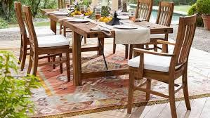 pottery barn cyndy kilim recycled yarn indoor outdoor rug