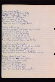 i need a paper written for me the psychological benefits of best ideas about hand written handwriting fonts hand written ziggy stardust lyrics by david bowie this
