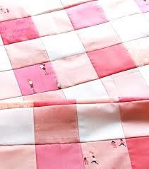 pink gingham quilt this little quilt measures 1 2 x 1 2 and i cut my