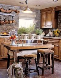 Kitchen, Eat In Kitchen Sets Simple Unfinished Wood Bar Interior Design  Ideas Yellow Padded Seat