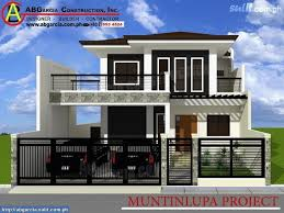 modern house styles best of house design with floor plan philippines small modern house