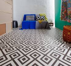 sagres black and white cushioned sheet vinyl flooring triangles and diamonds seamless