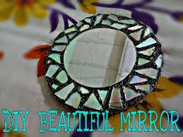 Broken Mirror Wall Art Diy Mirror Art Out Of Waste Makeup Mirror Or Wall Art Mirror